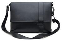 free shipping by EMS!!2013 fashion high quality genuine leather handbag men's bags messenger bag man totes shoulder bags 1035