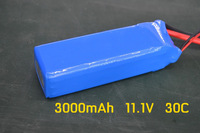 Hot sell Cheap series 11.1V 3000mAh 3S 30C Li-Po Battery for RC Trex 450 HELICOPTER rc battery
