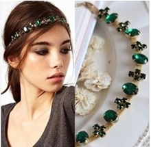 Min.order is $10(Mix order) Free shipping 2013 Glitter Headbands Women Wedding Hair Accessories Headwear(China (Mainland))