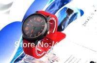 DHL shipping+ wholesale watches fashion women ladies big face quartz watch,silicone gel Kevin quartz round watch for Christmas