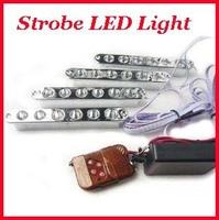 DIY  IP68 car auto led strobe flashlight led car warning  light backup light tail stop daytime running light