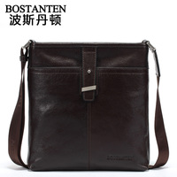 free shipping by EMS!!2013 fashion high quality genuine leather handbag men's bags messenger bag man totes shoulder bags 10431