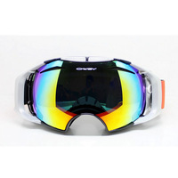 2014 ski eyewear lens skiing mirror lens night vision ski goggles
