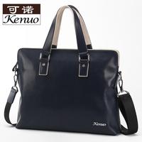 Genuine leather bag bag business bag handbag cowhide 2014 one shoulder cross-body bag men casual