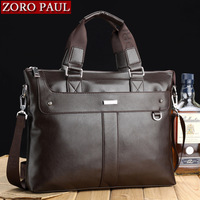 Bolsa couro Man bag 2014 male horizontal commercial handbag genuine leather first layer of cowhide 14 laptop bag the trend