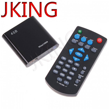 Mini 1080P HD HDMI SD/USB Media Player MKV/RM/RMVB 4GB