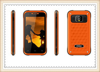 New 2013 Outdoor Shape MORE  009 Android Phone 4.0inch SC6820 1.0GHZ GSM quad band Wifi Bluetooth unlocked cell phone orange