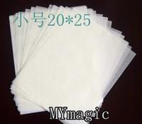 25 x 20 cm Small Flash paper (30pcs/lot) - accessory , coin magic ,fire magic,magic tricks,fire,props,dice,comedy,mental magic
