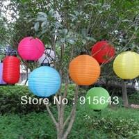 "Free shipping,10"" solar powered lantern lamp, Festival Christams Decoration garden yard LED camping Patio lantern 5 pcs/lot"