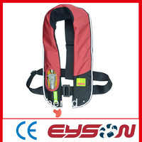 Inflatable life jacket with CE certification
