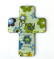 20 pcs Cute Christian Religious gift refrigerator magnet Stickers Cross fridge magnet - Pray