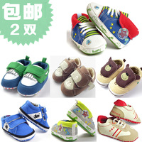 2013 0-1 year old baby boy cotton fabric soft slip-resistant outsole baby toddler shoes baby shoes soft outsole spring and