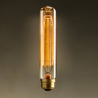 Light source euchromatin bulb personalized antique vintage test tube glass lamp light bulb 40w 220v