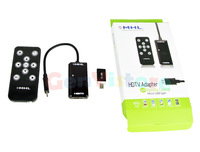 1080P MHL Micro USB to HDMI HDTV Adapter Remote For Samsung Galaxy S2 S4