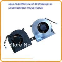 Laptop Fan For DELL ALIENWARE M18X XHW5W DFS601305PQ0T P0DG8 PODG8 Laptop CPU Cooling Fan Notebook cooler fan