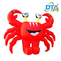 Crabs fitted inflatable lobster cartoon animal inflatables inflatable datang