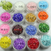 FREE SHIPPING/ the 2MM solid color TINY beads hot on sale (2500pcs/bag) many colors