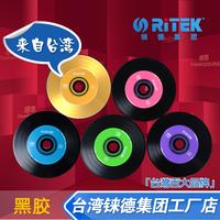 Ritek cd colorful vinyl cd-r 52x music cd discs 5 blank cd
