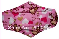 New Printed  Bamboo cloth pads  Free Shipping