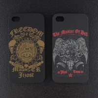 Free shipping Newest Tide Brand The Master Style Jizo bosatsu Hard Case Back Cover For iPhone 4 4S Iphone4S