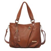 New  2013 Fashion Women Leather Handbags Cowhide High Quality Leather Bag Women Messenger Bags Famous Designer Purses Handbags
