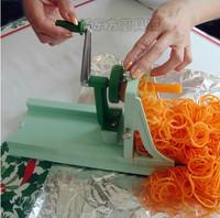 Multifunctional Rotary Shredder Potato Radish Plane Cutting yarn grater Core Slaw Machine japanese style