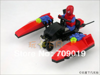 Enlighten store sales 6005 toys educational Spider Man kazi Fire Bird DIY toys building block sets,children toys free Shipping