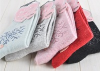 10 pairs/lot ,5 colors Women's Sock  Warm  winter Women Wool Socks