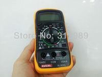 Digital LCD Multimeter Voltmeter Ammeter Ohmmeter OHM VOLT Tester(XL-830L)