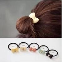 Fashion Acrylic Hair Accessory Elastic Rope Hair Band for Girls Rabbit Freeshipping/WholesaleHL23806