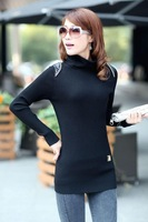 2013 winter sweater slim elegant basic sweater elastic shirt basic shirt thickening sweater