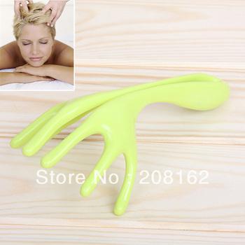 Manually Scalp Massager Handheld Scratcher Stick Six Claw Shape Head Massagers Health Care