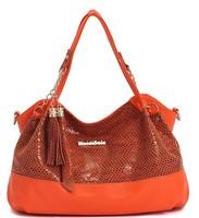 2014 HOT new ladies casual handbag the fashion serpentine  shoulder bag/women bag/lady totes bag free shipping promotion