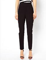 2014 hot sale new fashion straight  high waist women pencil pants