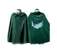 OISK Attack on Titan Scouting Legion Allen Cosplay Jacket Cape Cloak Shingeki no Kyojin