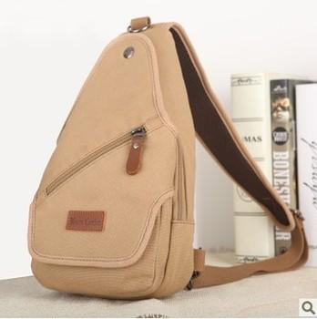 Brand messenger bag/single shoulder bag/casual brief bag/top quality canvas chest pack/trend sport bag/free shipping
