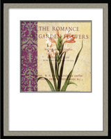 Handpainted Decorate PS Frame Spray Vase Flower Store Postcard Postal Card Painting Drawing Paint