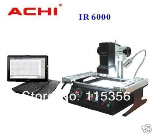 free shipping Original 1300W ACHI IR6000 dark infrared BGA rework machine for laptop xbox ps3 repair(China (Mainland))
