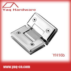YH16b Stainless Steel SUS304 Glass Shower Door Hinge 30pcs