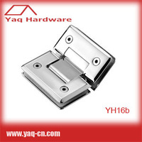 YH16b Stainless Steel SUS304 Glass Shower Door Hinge 30pcs