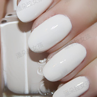 Color ring girl nail essie polish oil wedding series 797 instant hot white rose