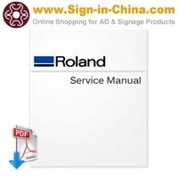 Roland FJ-540 SJ-740 SJ-640 SJ-540 Large Format Printer English Service Manual