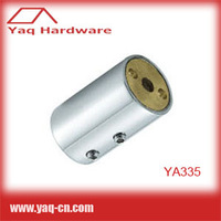 YA335 Solid Brass Shower Enclosure Support Bar Connectors