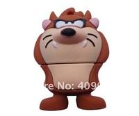 retail genuine 1G - 32G usb drive pen drive usb flash drive memory cartoon Taz Looney Tunes Free shipping+Drop shipping