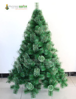 180cm luxury pine needle mixed christmas tree 1.8 meters decoration chiban  =sds180-1