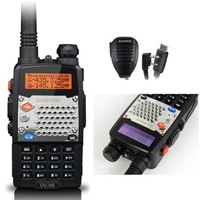 PRO UV-5S UHF/VHF Radio+Original Speaker +USB cable Camouflage Band BAOFENG T
