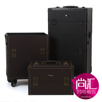 Sunrise 2 vlsivery large capacity professional european version of the trolley cosmetic box suitcase dual