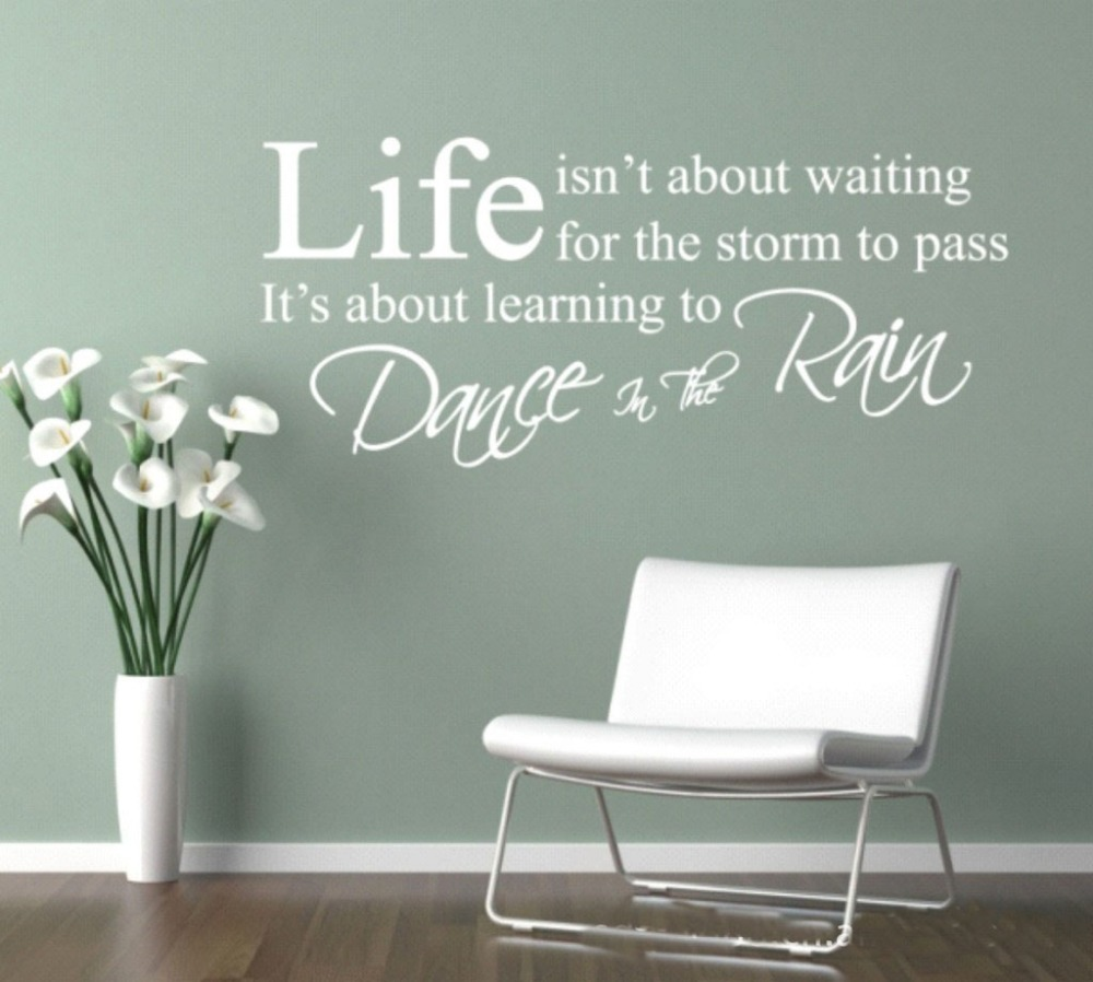 Wall Art Decor Inspirational : Inspirational wall art stickers