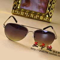 5823 male sunglasses metal classic sunglasses box star style male driving mirror