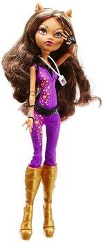 Genuine  Monster High dolls Monster High Music Festival Doll Clawdeen Wolf Diy Doll Children Kid Girl Dolls Toys - Free shipping